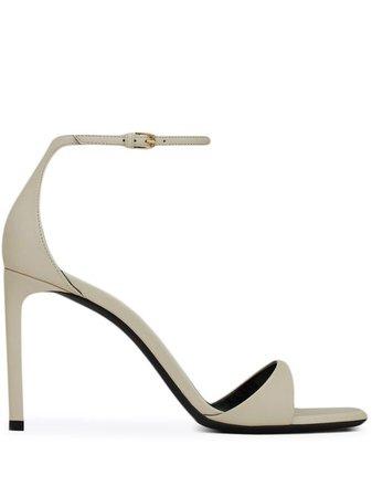 Saint Laurent Bea 90mm Sandals - Farfetch