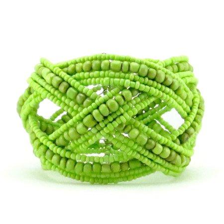lime green bracelets