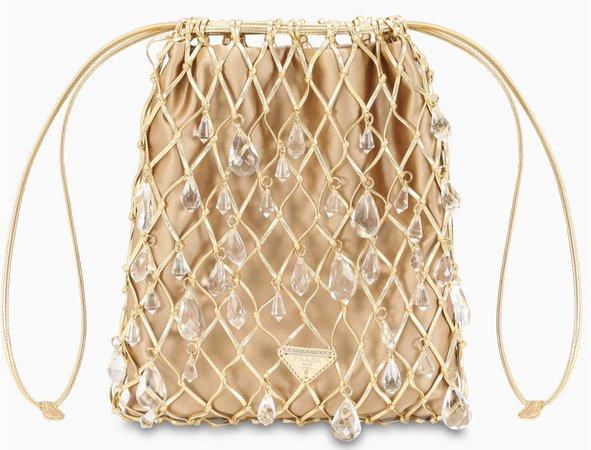 Gold Bucket Bag