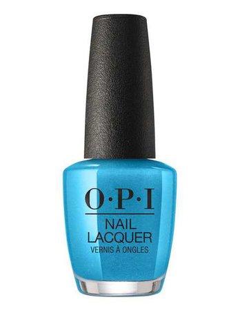 Blue/Turquoise Nail Polish (OPI)