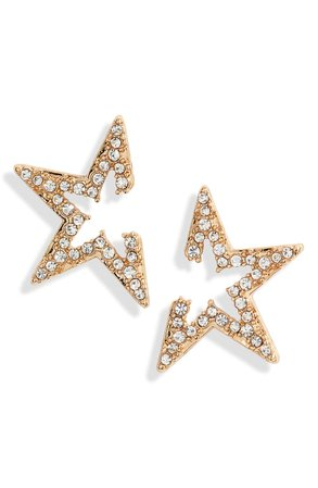 Ettika Star Light Crystal Embellished Stud Earrings | Nordstrom