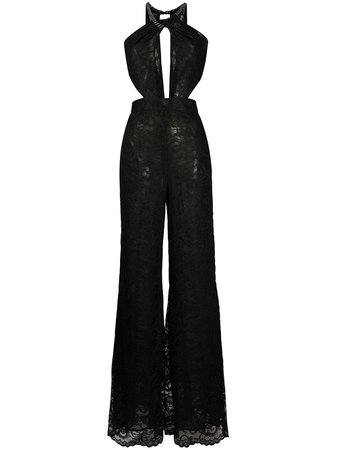 Dundas Lace wide-leg Jumpsuit - Farfetch