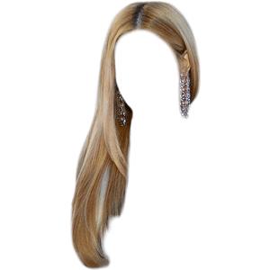 Ash Blonde Hair PNG