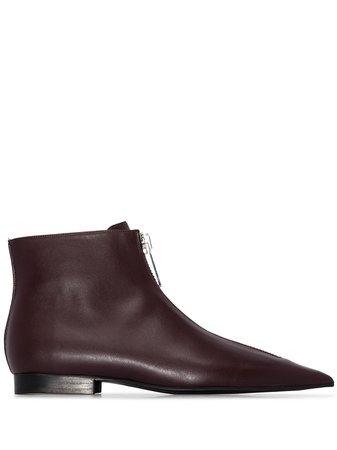 Stella McCartney zip-front Ankle Boots - Farfetch
