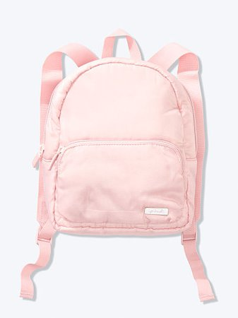 Ripstop Mini Backpack - PINK - pink