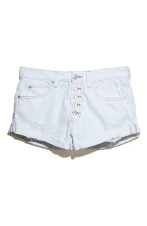 Free People Romeo Rolled Cutoff Denim Shorts | Nordstrom