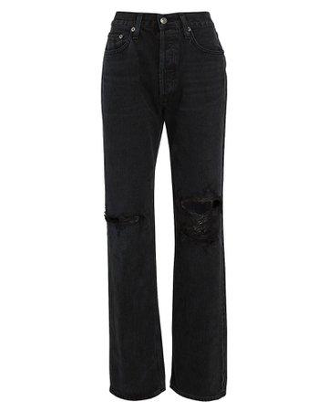 AGOLDE Lana Straight-Leg Jeans | INTERMIX®