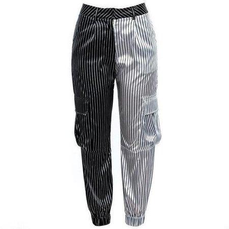 cargo pants stripes