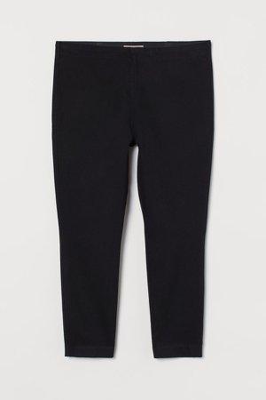 H&M+ Twill Pants - Black