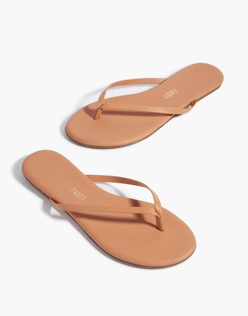 TKEES Nudes Leather Sandals
