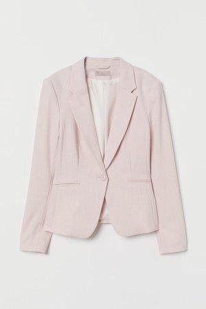 Fitted Blazer - Pink