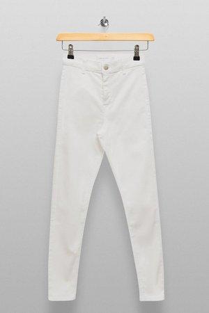 PETITE White Joni Skinny Jeans | Topshop