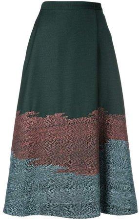 Bodice Studio stitch detail A-line skirt