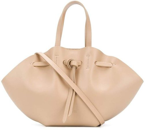 Lynne knotted tote bag