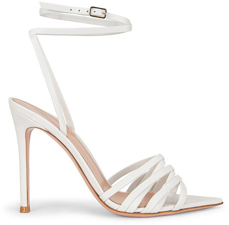 Ankle Strap Sandals in White | FWRD
