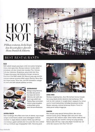 HARPER'S BAZAAR ANNIVERSARY ISSUE: SOCIAL MEDIA DARLINGS - eatandtreats - Indonesian Food and Travel Blogger based in Jakarta