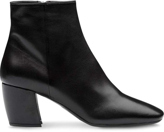 nappa leather ankle boots