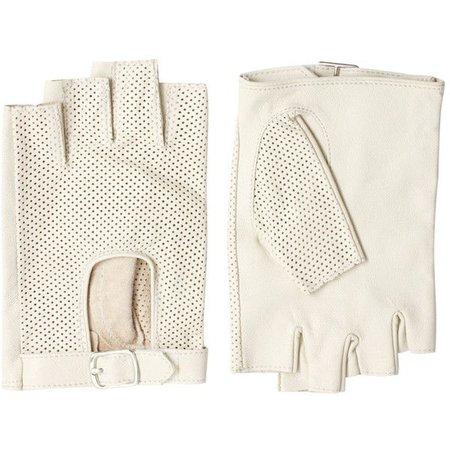 ASOS Leather Fingerless Drivers Gloves