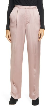 Liquid Shine Satin Trousers