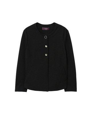 Violeta BY MANGO Welt pockets blazer