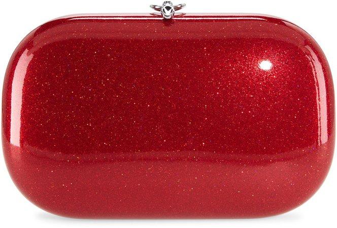 Elina Plus Glitter Clutch