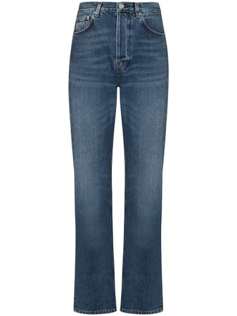 Totême high-waist straight-leg Jeans - Farfetch