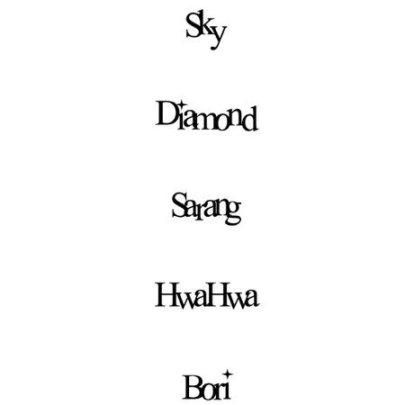 hf names