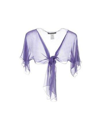 Alberta Ferretti Silk Top - Women Alberta Ferretti Silk Tops online on YOOX United States - 37936120NX