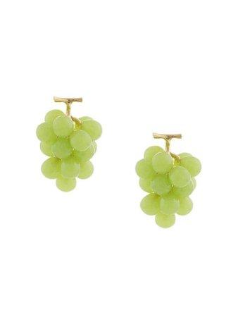 E.m. Grape Earrings EMZ2LBAP36 Green   Farfetch