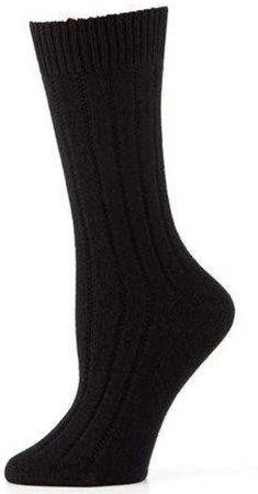 neiman marcus black thermal socks sock