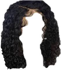 black curly edges hair transparent background - Google Search