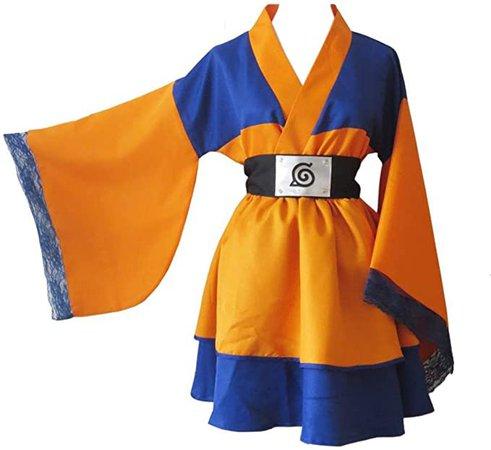 Naruto Costume Lolita Kimono Dress