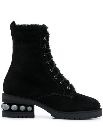 Nicholas Kirkwood Casati Combat Boots - Farfetch
