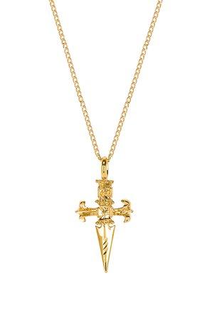 Sword Cross Necklace