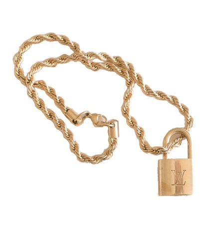 vendivintage lock key chain