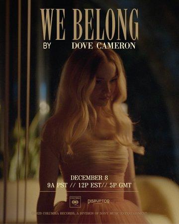 We belong-Dove Cameron