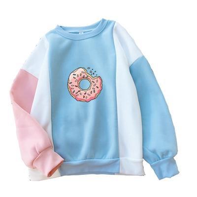 Pastel Donut Pullover