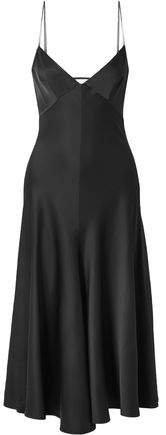 Carolina Satin-crepe Midi Slip Dress
