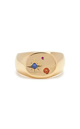 Gold-Vermeil Seal Signet Ring by SCOSHA | Moda Operandi