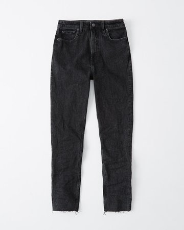 Womens High Rise Slim Jeans | Womens Up To 40% Off Select Styles | Abercrombie.com