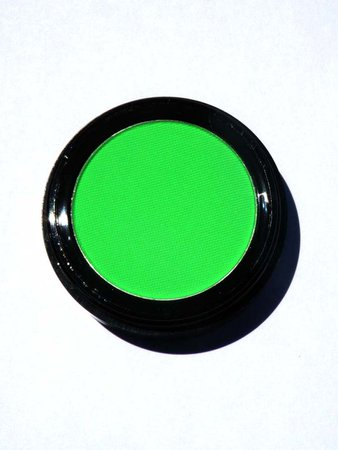Neon Green Eyeshadow