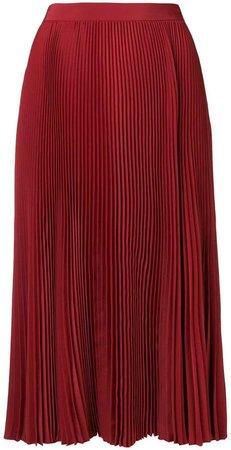 fold pleated skirt