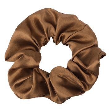 brown scrunchie