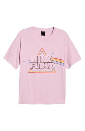 Day Pink Floyd Prism Logo Tee | Nordstrom