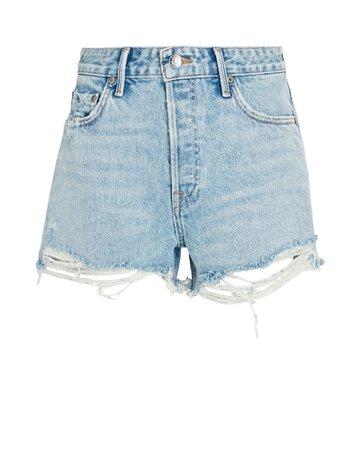 GRLFRND Helena Denim Shorts | INTERMIX®