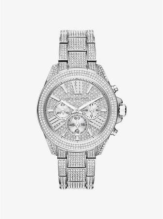 Wren Silver-tone Watch   Michael Kors