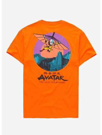 Avatar: The Last Airbender Aang Glider T-Shirt
