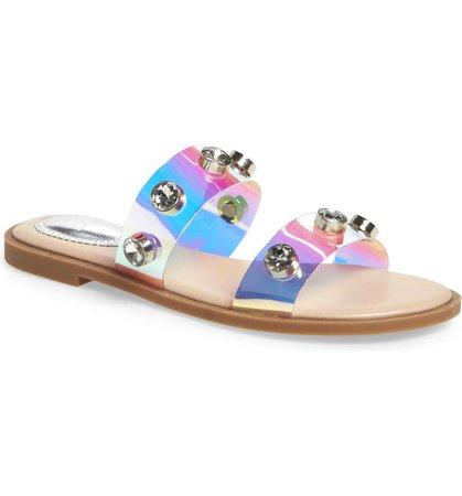 BP. Stud Slide Sandal (Women) | Nordstrom