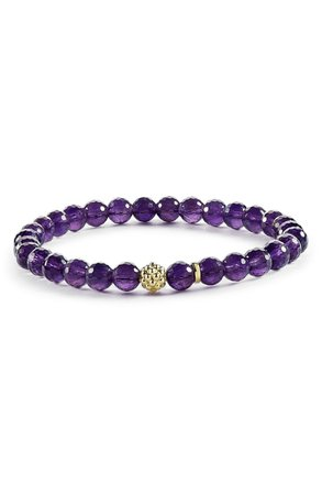 LAGOS 'Caviar Icon' Semiprecious Stone Bracelet | Nordstrom