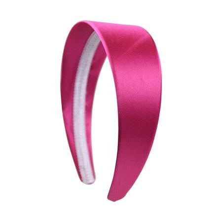 Wide pink headband